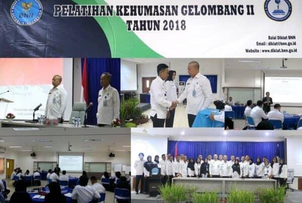 Pelatihan Kehumasan Gelombang II (30 Peserta) (26 s.d. 29 November 2018) – Lido Bogor, Jawa Barat