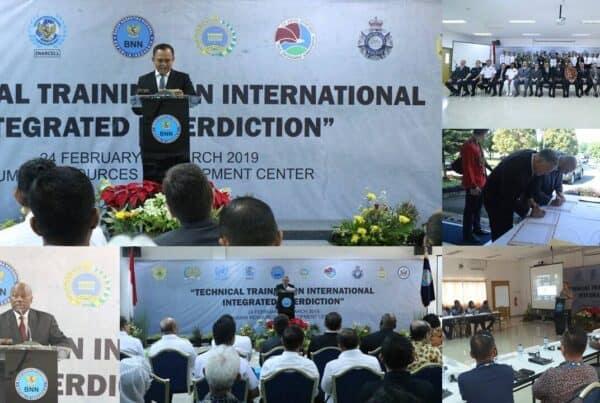 Technical Training On International Integrated Interdiction (25 Februari s.d 5 Maret 2019) (30 Peserta)