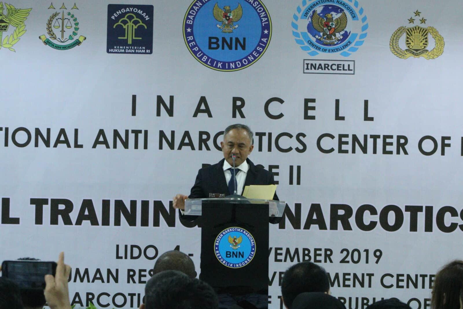 International Training of Narcotics Enforcement